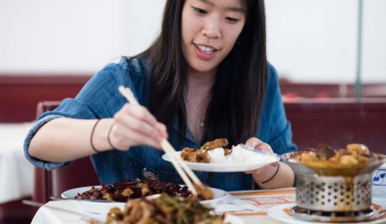 Chinese delicacies sets the scene for novel