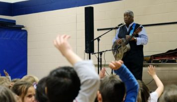 Blues like 'home cooking' for kids