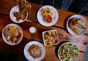 Smallman Galley's new pop-usacharacteristic Eastern European and Italian dishes'