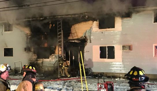 Casper Firefighters Extinguish BBQ Fire That Threatened Homes